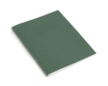 5 x HANDWRITING EXERCISE BOOKS A5 Green Cover Learning to Write Notebook 32 Page